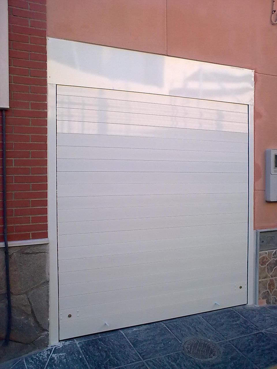 Persiana Enrollable Aluminio Blanco 2