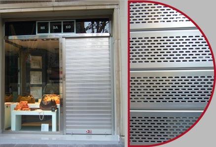 Puerta Enrollable Lama Microperforado