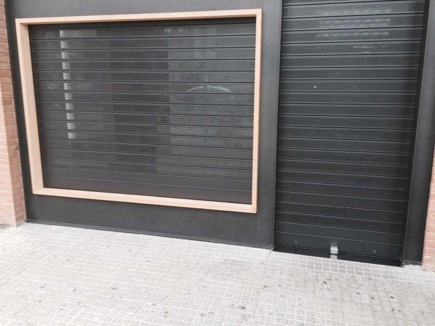 Puerta Enrollable Perforada