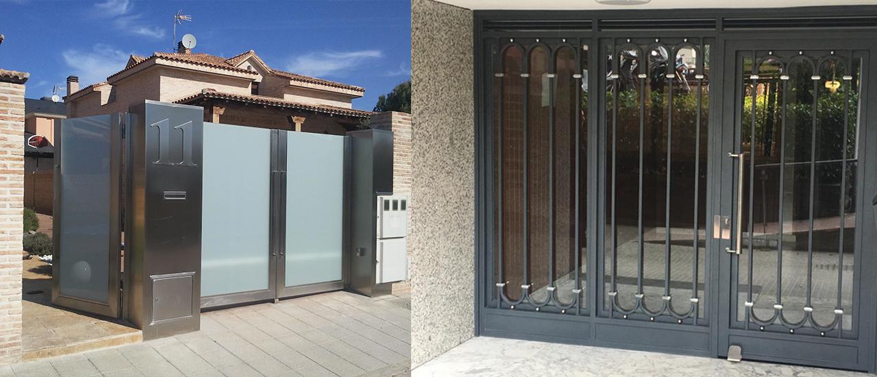 Instalación puertas comunidad